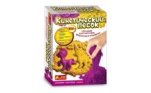 Набор кинетического песка Лошадка сиреневый + желтый 500 г, RANOK