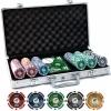 Набор для покера на 300 фишек с номиналом Pro Poker Piatnik. 14g-chips