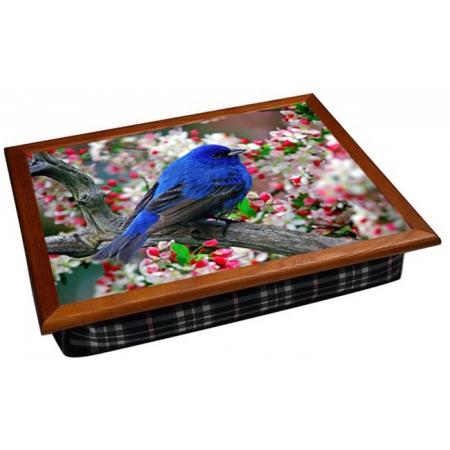 """Поднос для кофе в постель """"Синяя птица"""" 2.42"""