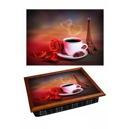 """Поднос для завтрака в постель """"Кофе в Париже"""" 2.46"""