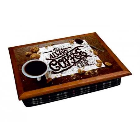 """Поднос на подушке """"Coffee time"""" 2.24"""