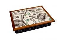 """Поднос с подушкой """"Первый миллион долларов"""" 2.83"""