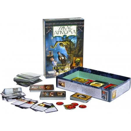 Ужас Аркхэма Проклятие Черного Фараона - Arkham Horror, дополнение. Hobby World (1013)