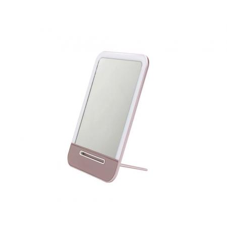 Зеркало для макияжа с LED подсветкой (заряжается от USB)