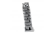 """Металлическая сборная 3D модель """"Пизанская башня"""" реплика Metal Earth"""