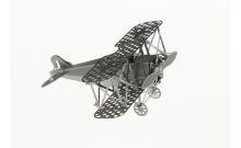 """Металлическая сборная 3D модель """"Истребитель Fokker"""" реплика Metal Earth"""