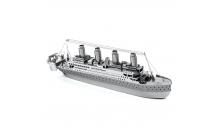 """Металлический 3D конструктор """"Титаник"""" реплика модели Metal Earth"""