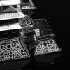 """Металлическая 3D модель """"Замок Химэдзи"""" реплика конструктора Metal Earth"""