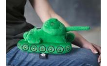 Игрушка Танк Т-34 плюшевый зеленый WG043323
