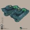Декоративные тапки в форме танков World of Tanks WG043328