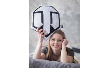 Декоративная подушка с лого World of Tanks семиугольная WG043339