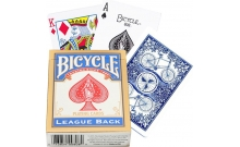 Карты Bicycle League Back Blue