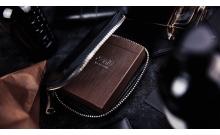 Кожаный кошелек для хранения игральных карт by TCC