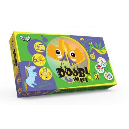 Dooble Image (по типу Доббль, Дуплет) - развивающая игра на внимательность