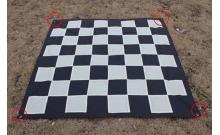 Нейлоновое поле для садовых (уличных) шахмат и шашек 280 х 280 см