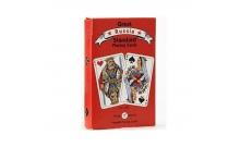 Игральные карты Русский Стандарт 55 листов, Piatnik, красная рубашка