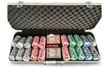 Покерный набор на 500 фишек Small Stakes Holdem, номинал 1-100. 11,5g-chips
