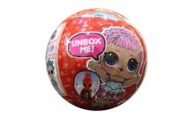 """Кукла """"LOL Light"""" (ЛОЛ) светящаяся в красном шаре, копия Китай (1 шт)"""