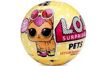 """Куклы """"LOL Pets"""" (ЛОЛ питомцы) 3 шт. в шаре (копия Китай)"""