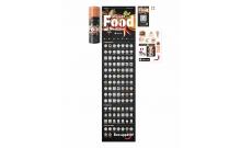 """Скретч постер """"100 дел Food Edition"""" (на русском языке) 1dea.me"""