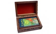 Шкатулка деревянная для карт Таро (розовое дерево)