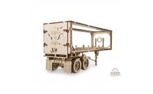 Полуприцеп к модели Тягач VM-03 - деревянный конструктор Ukrainian Gears
