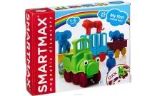 Мой первый поезд с животными - игровой набор для конструирования Smartmax SMX 410