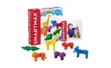 Мои первые дикие животные - детский магнитный конструктор Smartmax SMX 220