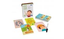 100 игр Уровень 1 - набор развивающих карточек для детей 2-7 лет