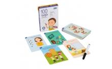 100 игр Уровень 3 - детские карточки заданиями на логику и воображение
