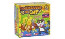 Полювання на сир (Кошки - Мышки, Сырная охота) семейная настольная игра