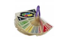 Uno H20 в дорогу- пластиковые карты Уно с карабином. Mattel (P1703)