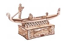 Гондола с тайной шкатулкой - деревянный 3D конструктор Wood Trick