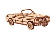 Кабриолет - механическая деревянная модель Wood Trick
