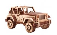 Сафари джип 4х4 - деревянная модель машинки Wood Trick