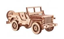 Джип - коллекционная сборная модель Wood Trick