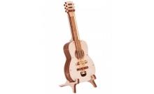 Вудик Гитара - механический 3D сувенир из дерева, Wood Trick