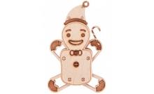 Вудик Пряник - сборная модель пазл из дерева от Wood Trick