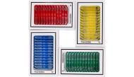 Изображение - Набор слайдов для микроскопа AMSCOPE-KIDS 48 шт (животные, насекомые, растения, цветы)