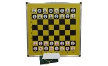 Шахматы демонстрационные 100 x 100 см (металл, пластик, магнитные)
