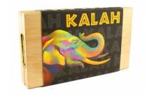 Игра Калах с натуральными камнями (Kalah). Украина 0102