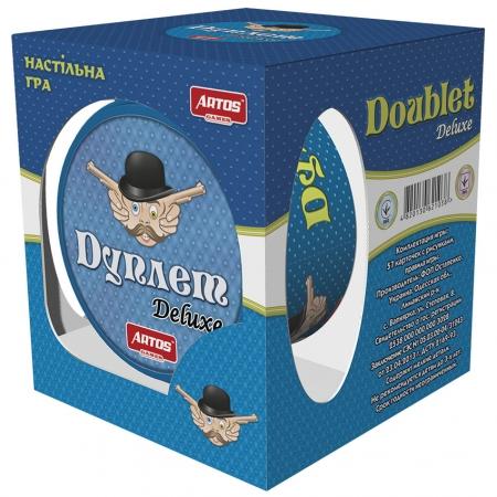 Настольная игра Дуплет Deluxe (металлическая коробка)