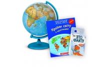 Изучаем страны «Светящийся глобус, атлас мира и игра Это факт! Страны»
