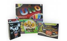 Комплект игр в дорогу «Игра в ассоциации, Уно, Кто я? и Dooble Image»