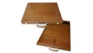 Изображение - Подарочный набор для игры в Го в чемоданчике из натурального дерева