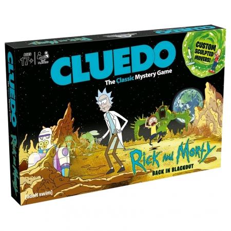 Настольная игра Cluedo Rick and Morty | Улика. Рик и Морти. Winning Moves 003210