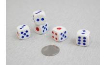 Кости игральные кубики, 18 мм, Китай