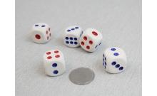 Кости игральные кубики, 20 мм, Китай