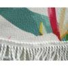 Пляжный коврик, Цветы, микрофибра, 150см