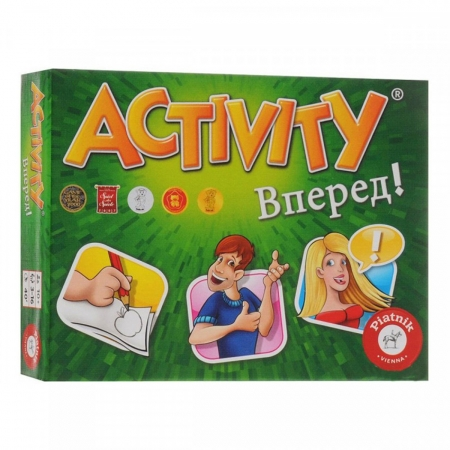 Игра Активити Вперед! | Activity - мини версия. Piatnik 797996